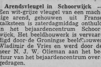 19620626 Leidse Courant - Arendsvleugel