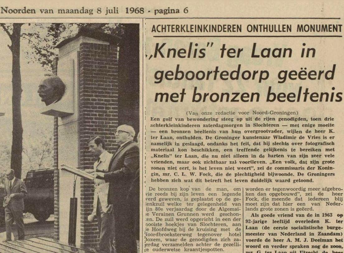 19680708 Nieuwsblad van het Noorden - Kop Ter Laan
