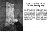 19960619 De Eemsbode - reliëfs Delfzijl