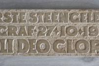 Soli Deo Gloria - eerste steen [particulier bezit]